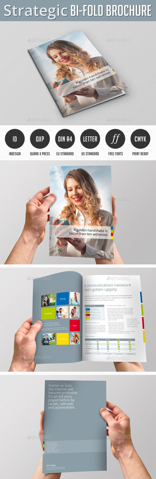 Strategic Bi-Fold Brochure - Corporate Brochures
