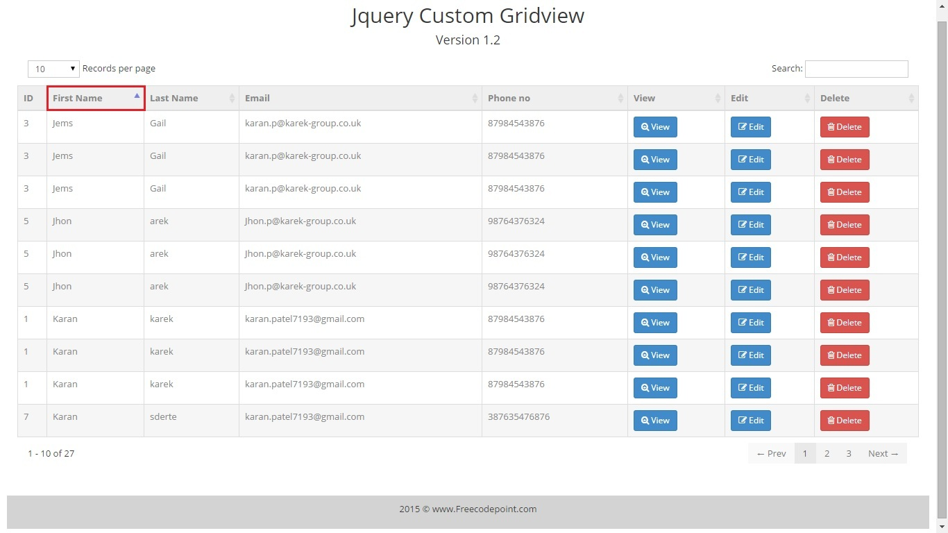 Magnificent Asp.net Gridview Css Templates Gallery - Example ...