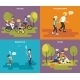Family with Children Icons Set - GraphicRiver Item for Sale