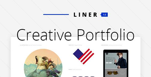 Liner – Portfolio Theme