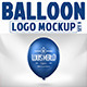 Balloon Logo Mock-up - GraphicRiver Item for Sale