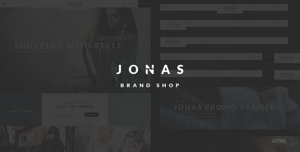 Jonas - Brand Shop HTML Template - Shopping Retail