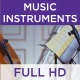 Music Instruments 03 - VideoHive Item for Sale