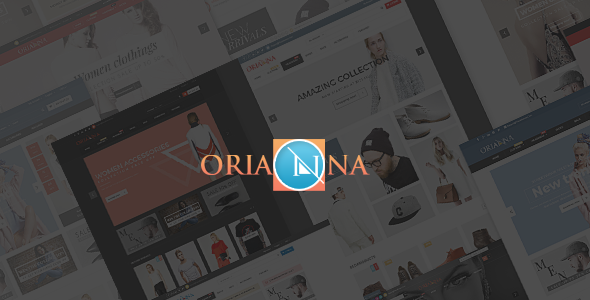 Orianna – Fashion PSD Template