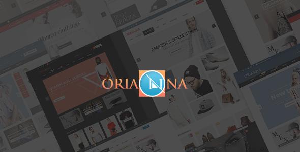 Orianna - Fashion PSD Template - Creative PSD Templates