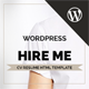 Hireme - Responsive Resume WordPress Theme Nulled