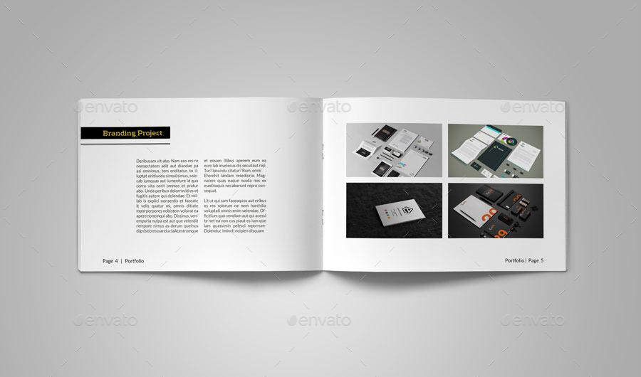 Minimal Portfolio Brochure By Alhaytar Graphicriver