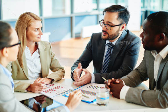 Explaining strategy - Stock Photo - Images