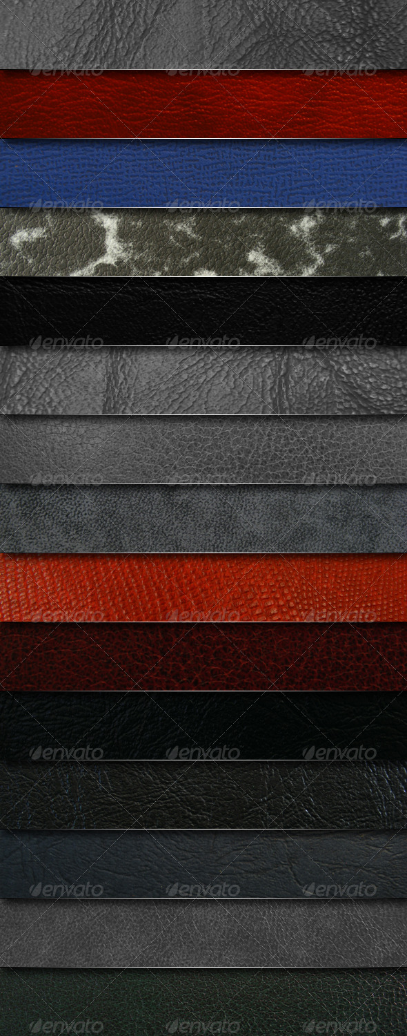 Mega pack - 15 leather textures - Miscellaneous Textures