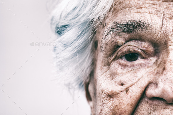 Senior women face - Stock Photo - Images