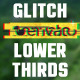 Glitch Lower Thirds - VideoHive Item for Sale