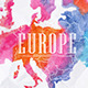 Watercolor Map Europe - GraphicRiver Item for Sale