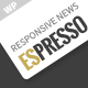 ESPRESSO - Magazine / Newspaper WordPress Theme Nulled
