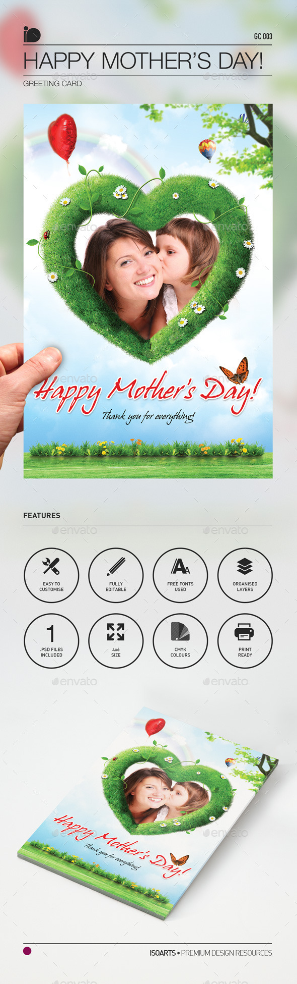 Greeting Card • Happy Mother's Day - Greeting Cards Cards & Invites