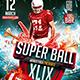 Flyer Super Ball Konnekt - GraphicRiver Item for Sale