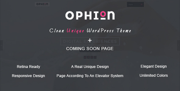 Ophion – Clean WordPress Theme