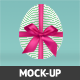 Realistic Easter Eggs Mock-up  - GraphicRiver Item for Sale