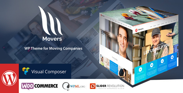 Mover – Moving Company WordPress Theme
