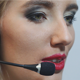 Beautiful Woman Operator Call Center - VideoHive Item for Sale