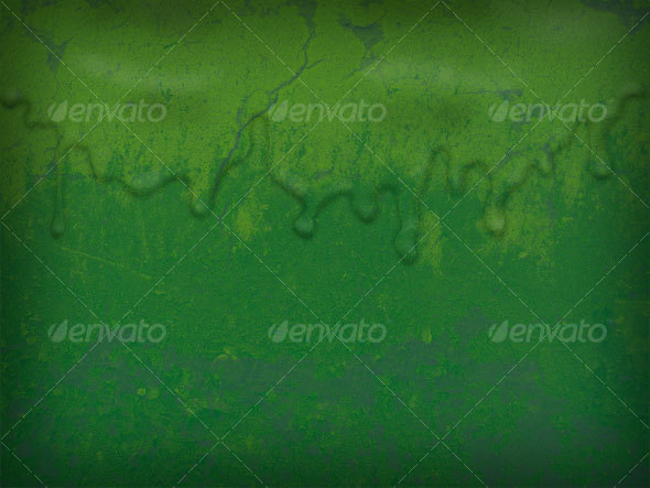 Green Liquid Layered Texture - Industrial / Grunge Textures