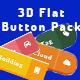 3D Flat Button Pack