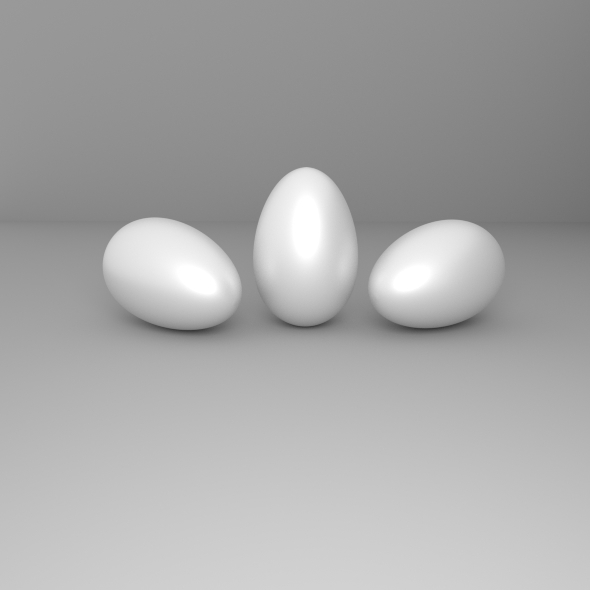 3D Eggs - 3DOcean Item for Sale