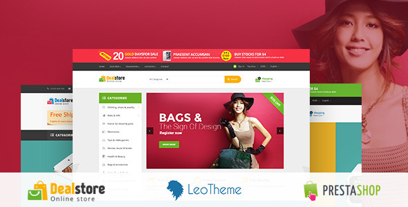 Deal Store Responsive Prestashop Theme