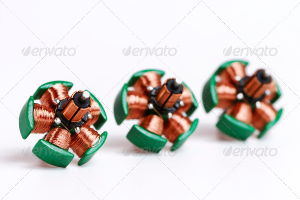 Inductors - Stock Photo - Images