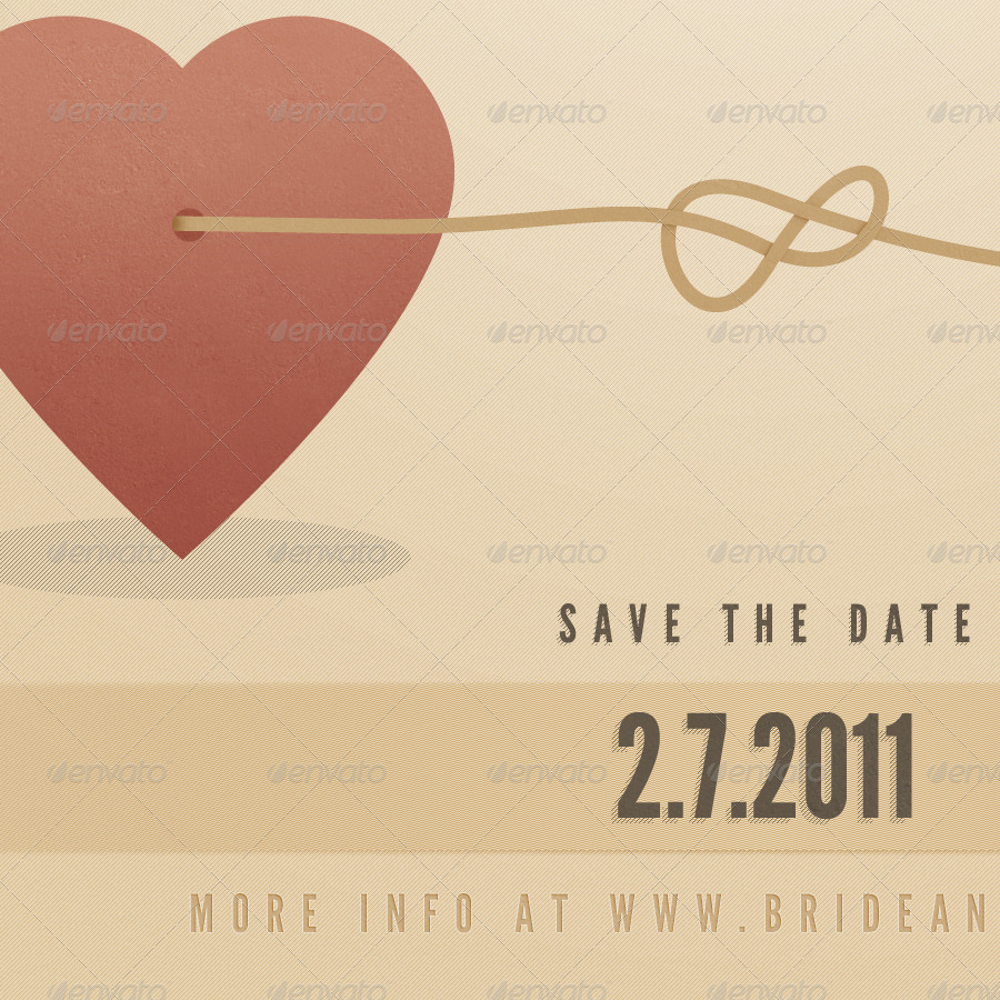 Vintage Wedding Announcement Template By Jackrugile GraphicRiver - Wedding announcement template
