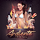 El Cocktail Ardiente - GraphicRiver Item for Sale