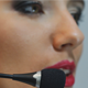 Call Center Operator Girl Speaks with a Client - VideoHive Item for Sale
