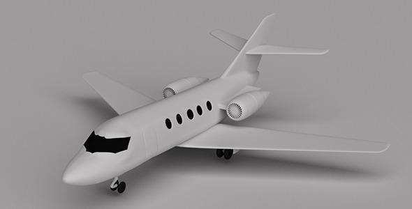 Dassault Falcon 20 - 3DOcean Item for Sale