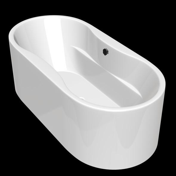 Freestanding, Modern Bathtub_No_02 - 3DOcean Item for Sale