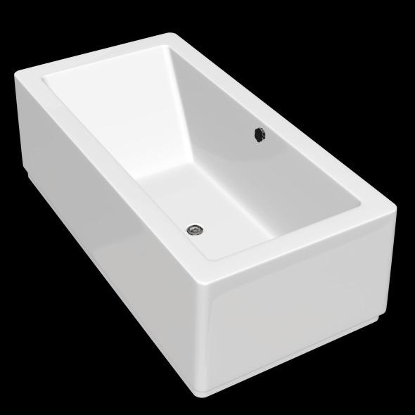 Freestanding, Modern Bathtub_No_03 - 3DOcean Item for Sale