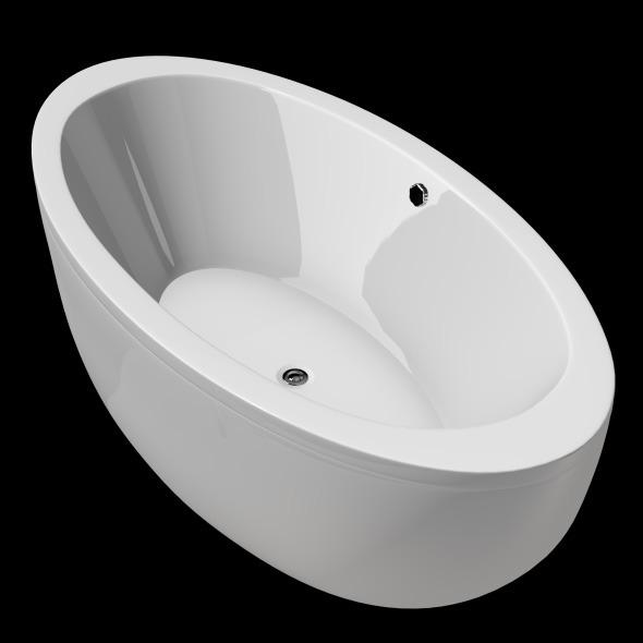 Freestanding, Modern Bathtub_No_04 - 3DOcean Item for Sale