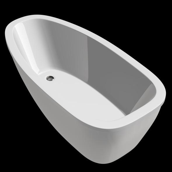 Freestanding, Modern Bathtub_No_05 - 3DOcean Item for Sale