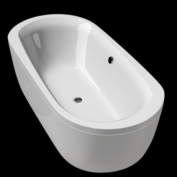 Freestanding, Modern Bathtub_No_08 - 3DOcean Item for Sale