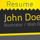 Nice & Clean Resume - GraphicRiver Item for Sale