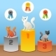 Cat Winners - GraphicRiver Item for Sale