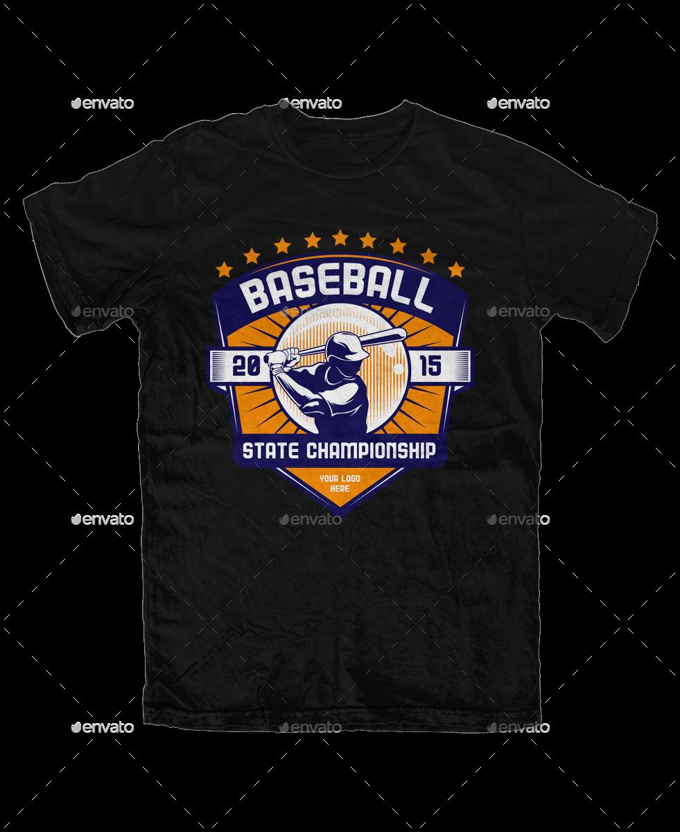 baseball t shirt template by svperkidz graphicriver
