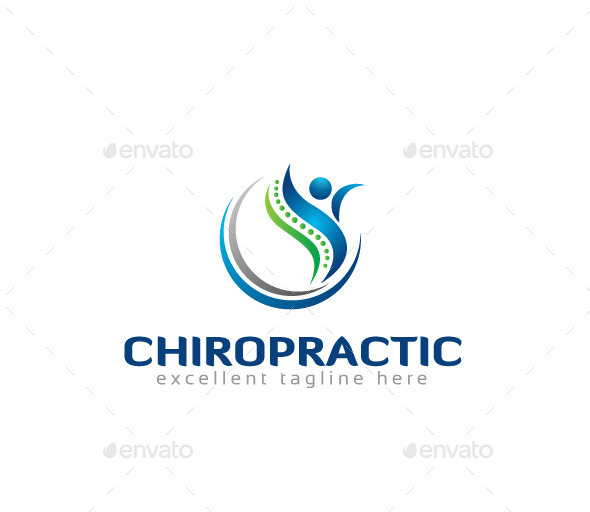 Chiropractic Logo Template by 1pathStudio | GraphicRiver