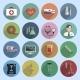Multicolored Medicine Icons