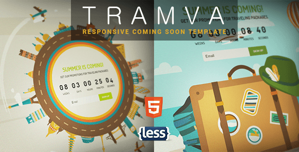Tramva - Travel Coming Soon Template