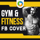 Gym and Fitness Facebook Cover