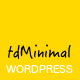 tdMinimal - Responsive WordPress Theme - ThemeForest Item for Sale