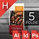 Five-Fold Multipurpose Media Brochure - GraphicRiver Item for Sale