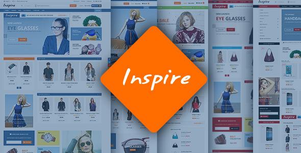 Inspire – Responsive Magento Theme