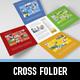 Metro Cross Folder - GraphicRiver Item for Sale