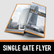 Business single gate flyer - GraphicRiver Item for Sale