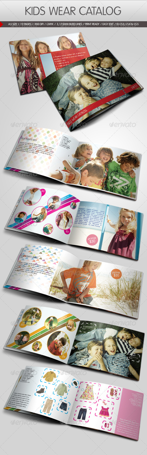 Kids Wear Catalog - Catalogs Brochures